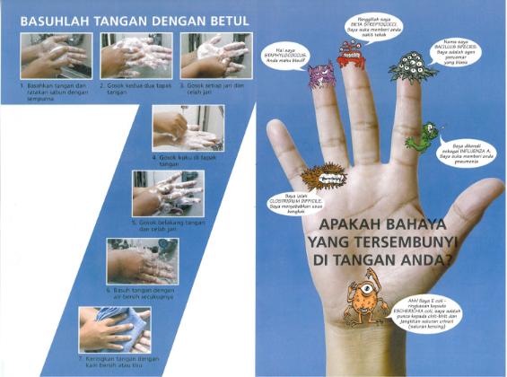 cuci tangan tujuh langkah